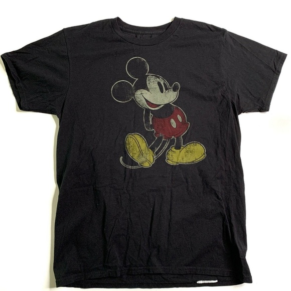 Disney Other - Disneyland Mickey Mouse T-Shirt Size M Black